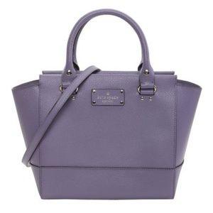Kate Spade Camryn Wellesley Lush Lilac Handbag